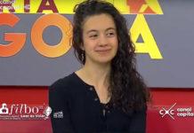 scritora Camila González, de 22 años de edad, nos visitó en 'Despierta, Bogotá'