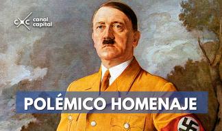 polémico homenaje a Hitler