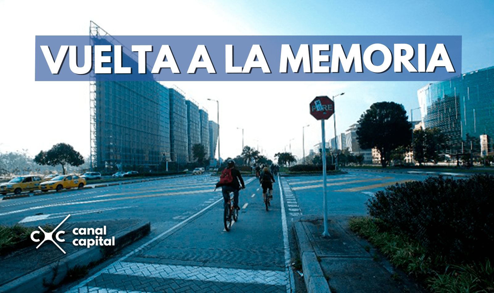 Rodada en bici para conmemorar los 70 años del Bogotazo