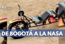 Marco, carro de bogotanos a la NASA