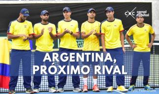 Argentina, próximo rival de Colombia en la Copa Davis