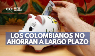 los colombianos no ahorran a largo plazo