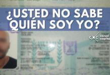nuevo caso de usted no sabe quién soy yo en Cartagena