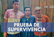 prueba de supervivencia de periodistas ecuatorianos secuestrados