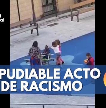 discriminación contra menor en un parque de España