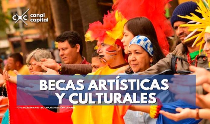 Becas artísticas y culturales