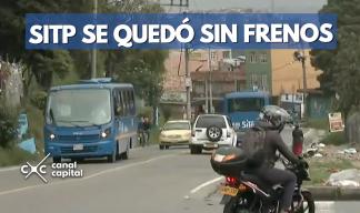 Fuerte accidente de SITP en la localidad de San Cristóbal