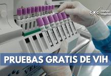 pruebas gratuitas de VIH