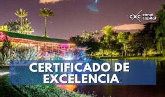 Certificado de Excelencia