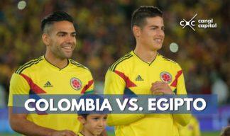 Colombia contra Egipto