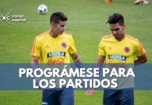 partidos de la Selección Colombia