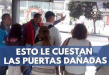 puertas TransMilenio