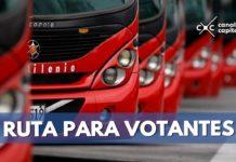 ruta para votantes