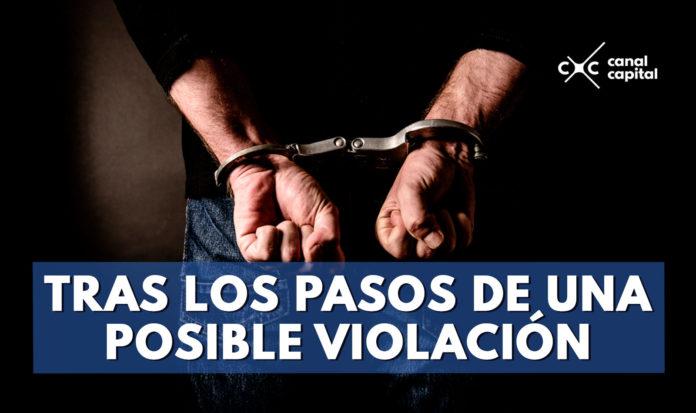 violación en Bogotá