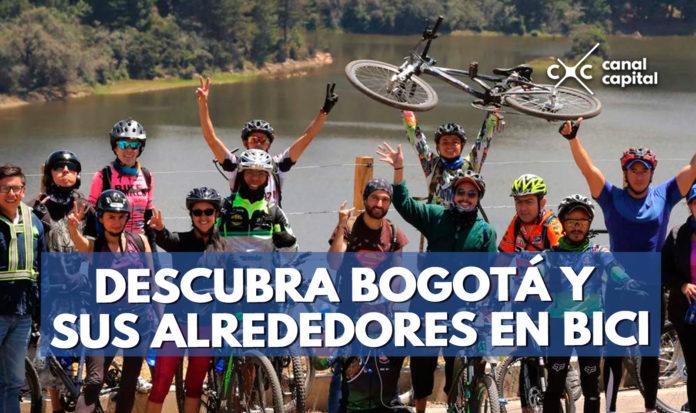 bicitravesías en Bogotá