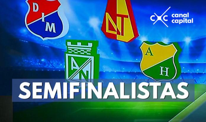 Los semifinalistas de la Liga Águila 1-2018
