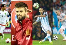 Los jugadores que colgarán los guayos con sus selecciones tras el Mundial