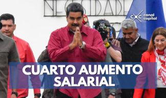 cuarto aumento salarial en Venezuela