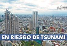 Japón en riesgo de tsunami