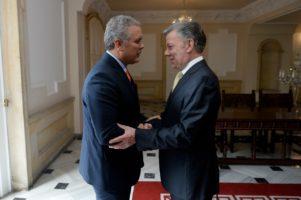 reunión de Santos y Duque
