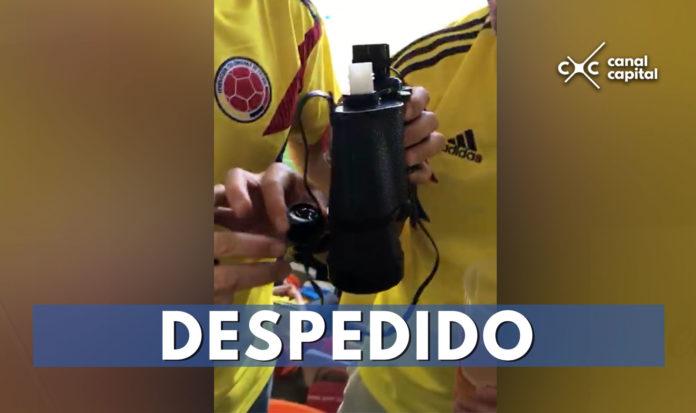 despiden colombiano licor rusia