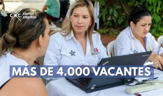 vacantes en Bogotá