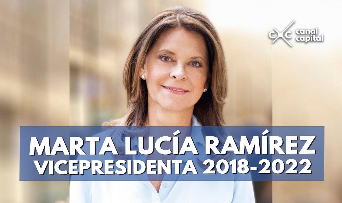 Esta es Marta Lucía Ramírez, vicepresidenta de Colombia   Conexión ...