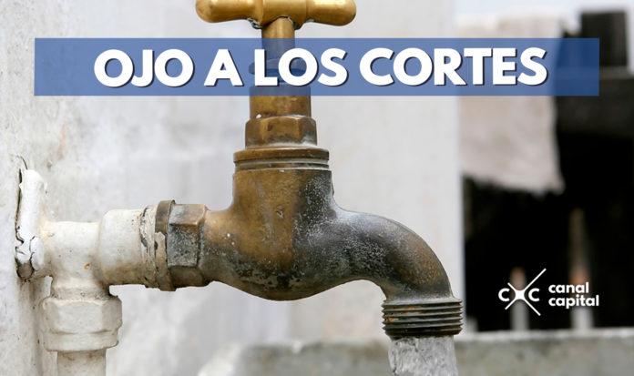 Cortes de agua Bogotá