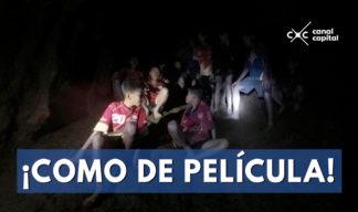 niños de Tailandia atrapado en cueva