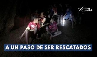 rescatan a ocho niños rescatados