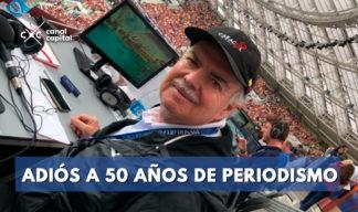 Iván Mejía se despide del periodismo