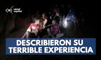 niños de tailandia describieron su terrible experiencia