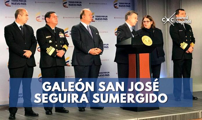 adjudicación de Galeón San José queda frenada