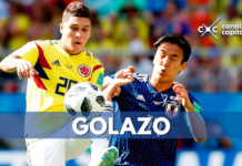 Gol de Juan Fernando Quintero, segundo mejor del Mundial