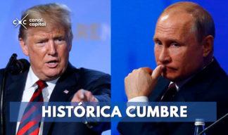 Histórica cumbre entre Putin y Trump