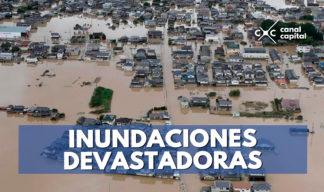 inundaciones en Japón deja 195 muertos