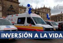 ambulancias Alcaldía de Bogotá