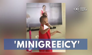 niña interpreta a greeicy rendón