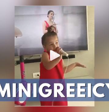 niña interpreta a greeicy rendón