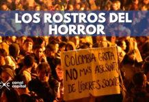 muerte de líderes sociales en colombia