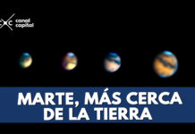Marte estará hoy más cerca de la Tierra y podrá verse a simple vista
