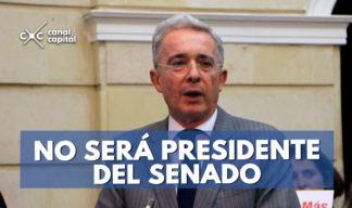 alvaro uribe no sera presidente del congreso