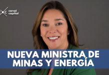 nueva ministra de energpia