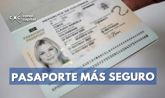 nuevo pasaporte en colombianos