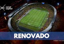 El Campín e renueva para el torneo colombiano
