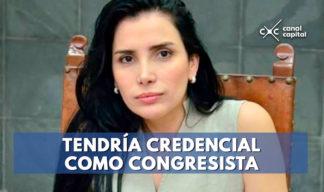 Aida Merlano podría posesionarse nuevo congreso