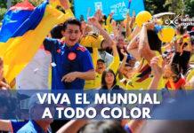 viva la fiesta mundialista a todo color