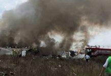 accidente aéreo Durango