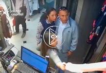 ladrones de establecimientos comerciales