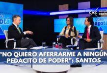 Santos a Uribe